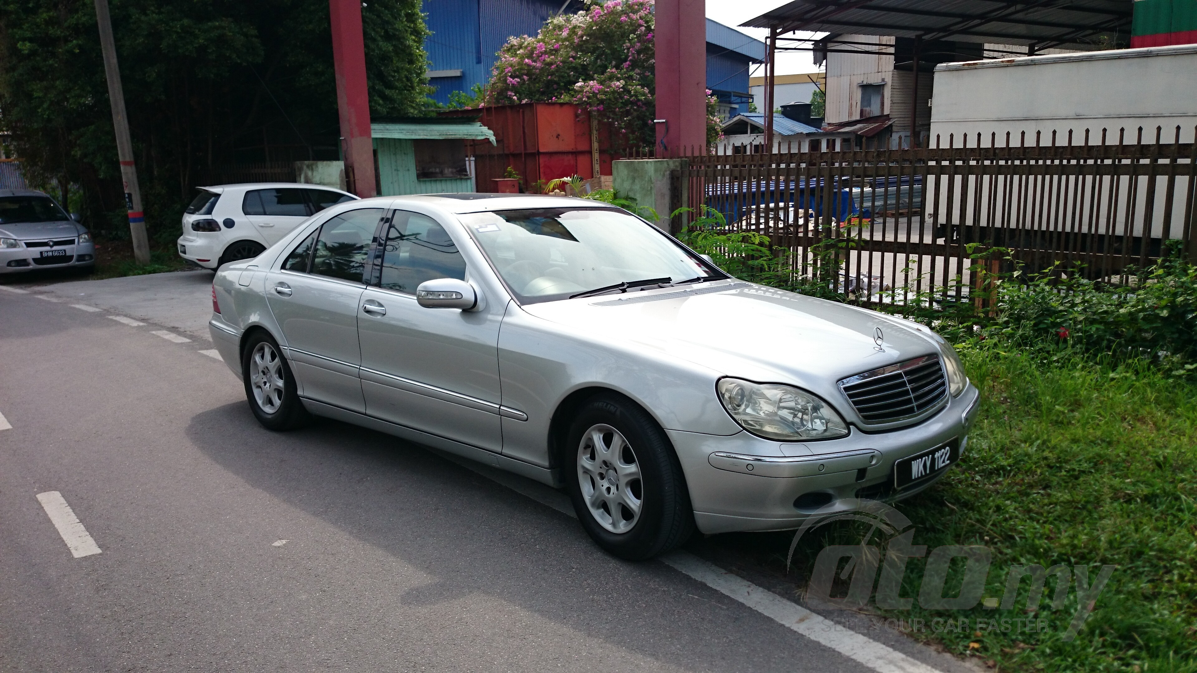 2001 used mercedes benz s class s320 cdi 163245 for 2001 mercedes benz s500 for sale