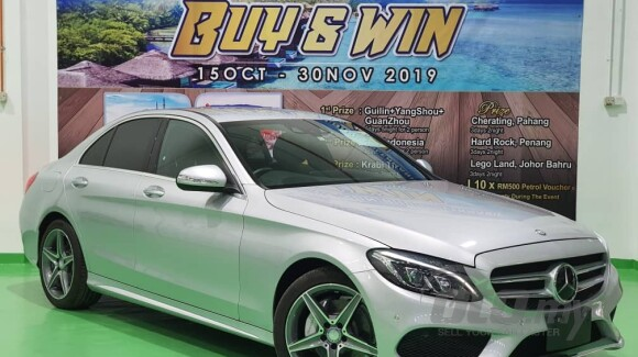 2014 mercedes-benz c-class c200 amg sport buy&win with 5years warranty