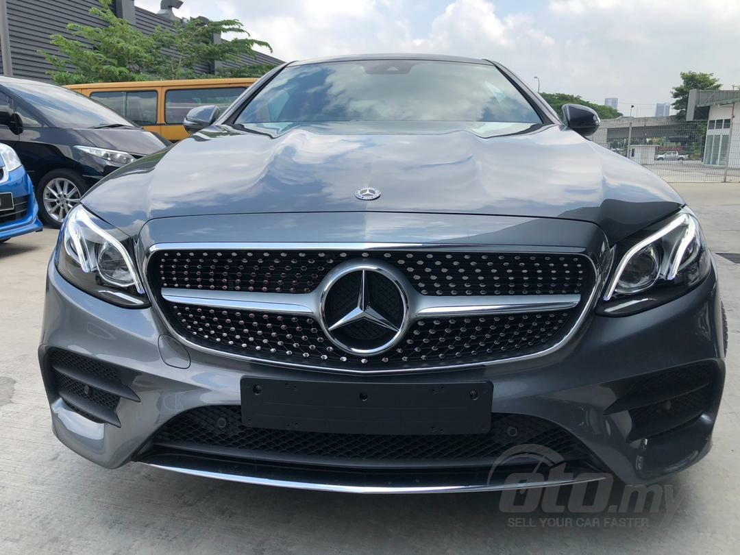 2018 Recond Mercedes-Benz E-Class Coupe E300 AMG Line